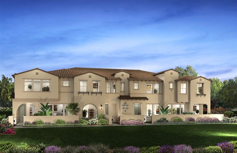 Plan 1 The Rowe At Baker Ranch Shea Homes Shea Homes
